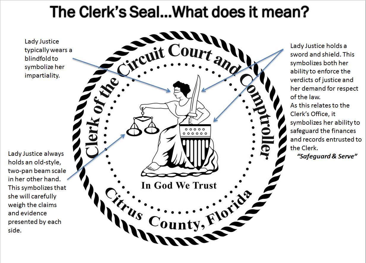 Explanation of Clerk's Seal